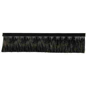 Brush strip for wall housing - 250 mm x 80 mm FREI