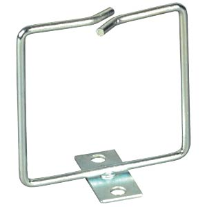 Cable routing bracket — 1 bracket, silver 80 x 80 mm EFB-ELEKTRONIK 699991.3