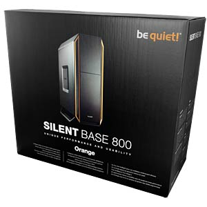 be quiet! Silent Base 800 Orange BEQUIET BG001
