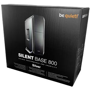 be quiet! Silent Base 800, silver BEQUIET BG003