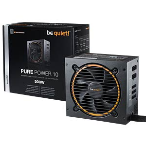 be quiet! Pure Power 10-CM 500W BEQUIET BN277