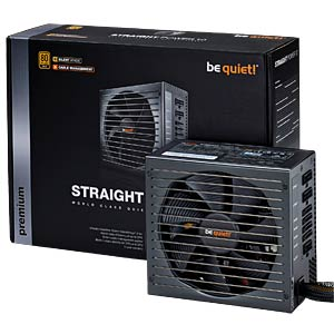 be quiet! Straight Power 10 - 600 Watt mit CM BEQUIET BN235