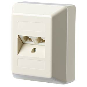 UAE 8/8(4) AP perlweiß RAL1013 METZ CONNECT 130004001-I