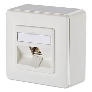 E-DAT modul 1 Port AP Cat.6A  reinweiß METZ CONNECT 1309110002-E
