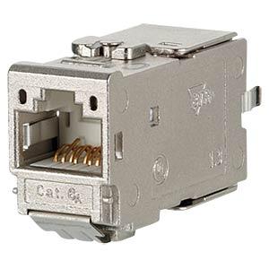 CAT.6A modul 180° Jack METZ CONNECT 130B11-E