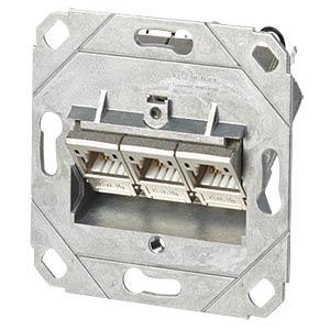 C6A-module 3 poort 180°M UP0 METZ CONNECT 130B11D31200-E