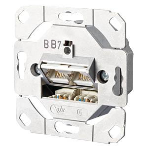 E-DAT CAT.6A 2 Port UP0 METZ CONNECT 130C381200-I