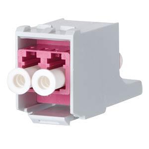 OpDAT modul LC MM erikaviolett/Keramik METZ CONNECT 15091075-I