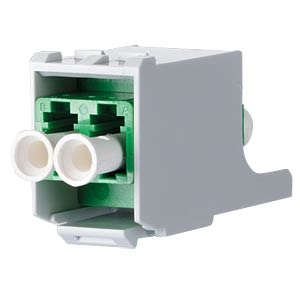 OpDAT modul LC APC SM grün/Keramik METZ CONNECT 15091076-I