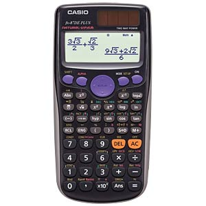 Scientific calculator CASIO FX-87 DE PLUS