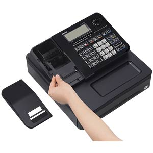 Electronic Cash Register - black CASIO SE-S100MB-BK-FIS