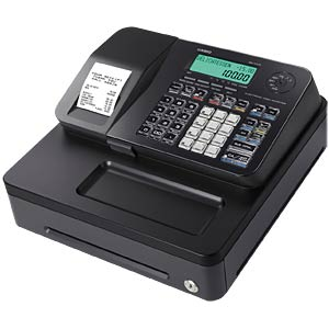 Electronic Cash Register - black CASIO SE-S100SB-BK-FIS