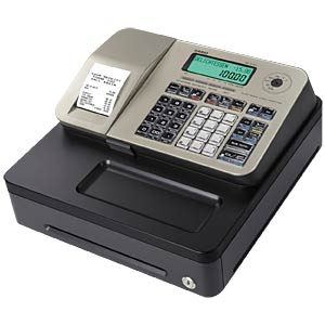 Electronic Cash Register - gold CASIO SE-S100SB-GD-FIS