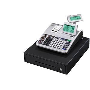 Registrierkasse. mit Geldlade, GDPdU-Software CASIO SE-S400MB-SR-FIS