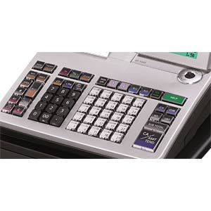 Electronic Cash Register - silver CASIO SE-S400SB-SR-FIS