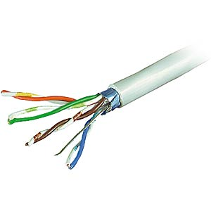 CAT-5 Patchkabel, F-UTP, 25m FREI