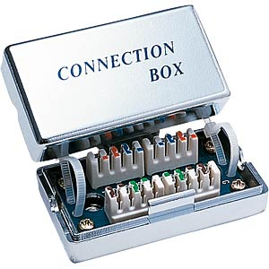 Cat5 splice box