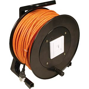 Cat.6 installation cable reel, 90 m FREI