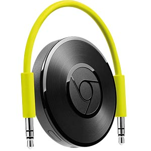 Google Chromecast Audio, schwarz GOOGLE GA3A00150-A07