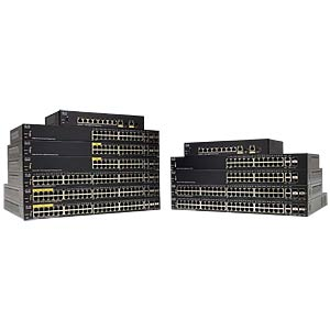48x10/100+2x10/100/1000+2xKombi-Gigabit-SFP CISCO SF350-48-K9-EU