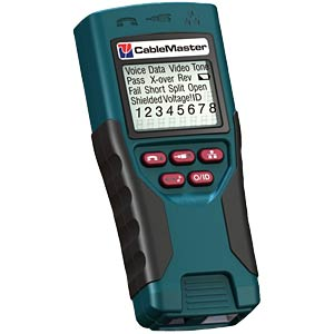 Cable tester for voice, data and video services including length PSIBER DATA PD_CM450