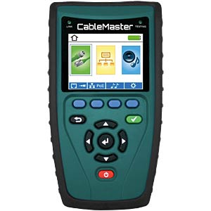 Professional cable tester including length measurement PSIBER DATA CABLEMASTER 600