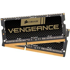 8 GB SO DDR3 1600 CL9 Corsair 2er Kit CORSAIR CMSX8GX3M2A1600C9