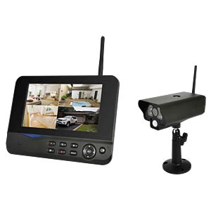 Wireless video system with 1 IR camera COMAG SECCAM11 IP