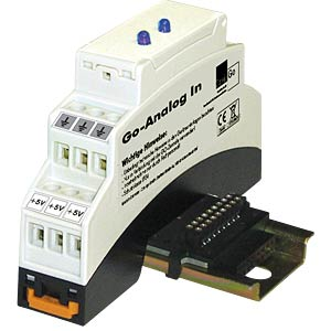 GO Analog IN module, 0 - 1 V, blueline CONIUGO 700300132