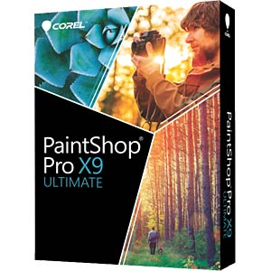 Photo editing software & bonus collection COREL PSPX9ULDEMBEU
