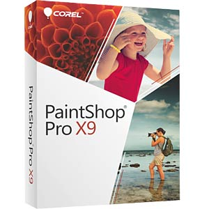 Photo editing software COREL PSPX9DEMBEU