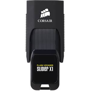 USB-Stick, USB 3.0, 256 GB, Flash Voyager Slider X1 CORSAIR CMFSL3X1-256GB