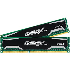 8 GB DDR3 1600 CL9 Ballistix two-piece set BALLISTIX BLS2CP4G3D1609DS1S00