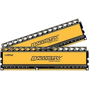8 GB DDR3 1600 CL8 Ballistix 2er Kit BALLISTIX BLT2CP4G3D1608DT1TX0CEU