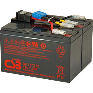 Ersatzbatterie geeignet für APC RBC48 CSB CSB-SCD48