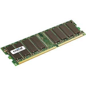 1GB DDR2 800 CL6 Crucial CRUCIAL CT12864AA800