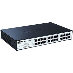 Switch - verwaltet - 24 x 10/100/1000 - Desktop D-LINK DGS-1100-24