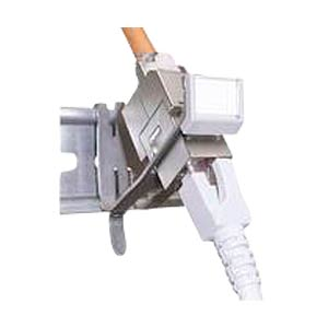 Rail adapter for one RJ45 module DAETWYLER 418025