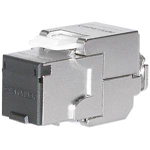 RJ45 module, shielded, Cat.6A, tool-free DAETWYLER 418061