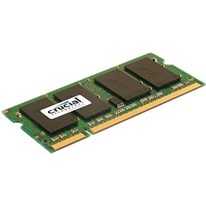 2048MB SO DDR2 667 Crucial CRUCIAL CT25664AC667