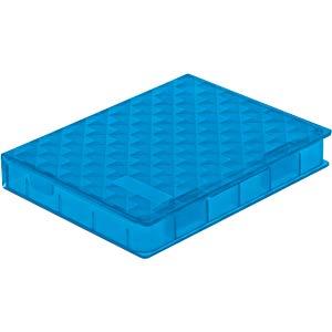 DELOCK 18369 - Schutzbox für 2.5'' HDD / SSD blau
