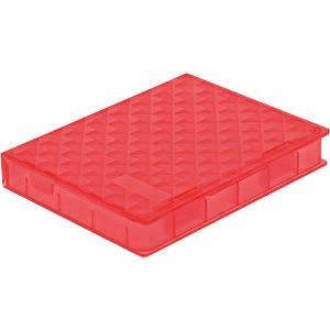 DELOCK 18370 - Schutzbox für 2.5'' HDD / SSD rot