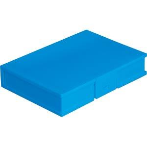 DELOCK 18373 - Schutzbox für 3.5'' HDD blau