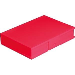 DELOCK 18374 - Schutzbox für 3.5'' HDD rot