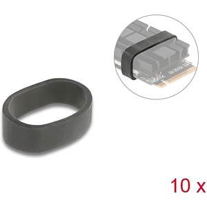 DELOCK 18409 - Gummiring zur Befestigung für M.2 SSD und Kühlkörper 10 Stück