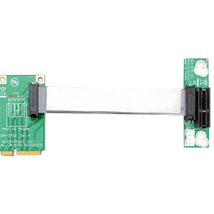 Riser card, Mini PCI Express > PCI Express x1 DELOCK 41370
