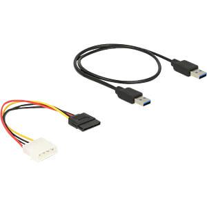Delock Riser Karte PCIe x1 > PCIe x16 mit 60 cm USB Kabel DELOCK 41423
