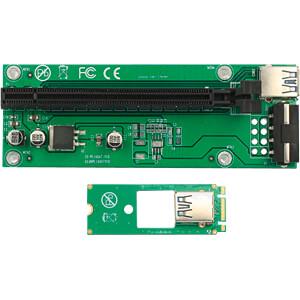 Delock Riser Karte M.2 Key B+M > PCIe x16, 30 cm DELOCK 41428