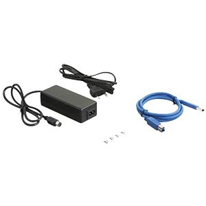 13.34-cm (5.25) external enclosure SATA > USB 3.0 DELOCK 42484
