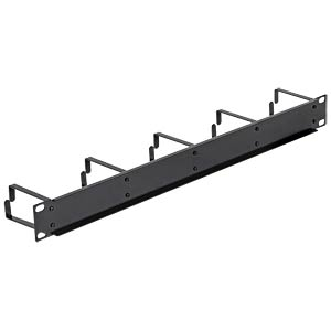 "19"" Kabelmanagement-Panel 1HE schwarz DELOCK 42496"